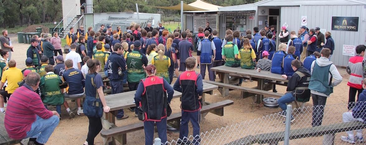 East Gippsland Secondary School Simulated Field Championship 2016